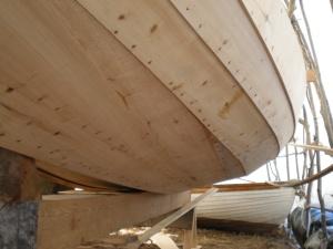 planked side