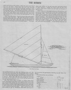 Mower dory sail plan