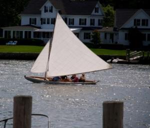 sailing at Mystic