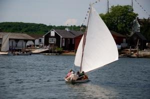 big sail down wind